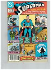 Superman 423 Last Issue by Alan Moore! Death of Bizarro! Lsh Very Fine