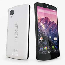 "Unlocked 4.95"" LG Nexus 5 D821 LTE 16GB 8MP Android Cellphone NFC GPS White"
