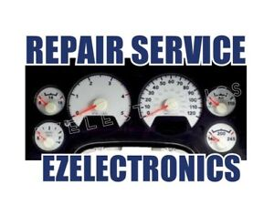 DODGE RAM 1500 2500 3500 INSTRUMENT CLUSTER REPAIR SERVICE 2003 - 2008