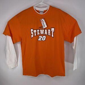 Chase Authentics Mens Sz XL Tony Stewart Joe Gibbs Racing Long Sleeve Shirt