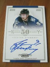 2010 11 Dominion Nifty Fifty  #  6 Steven Stamkos - Lightning Autograph #d 50 ZH