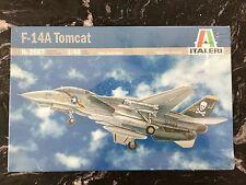 ITALERI 1/48 AMERICAN U.S. NAVY  F-14A TOMCAT JET FIGHTER # 2667 FACTORY SEALED