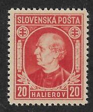 Slovakia 1939,Hlinka Issue,Scott # 28,VF-XF MNH**OG (AD-St)