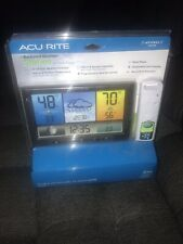 NEW ACURITE BACKYARD WEATHER STATION 02098HD COLOR DISPLAY SENSOR WIRELESS