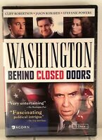 Washington: Behind Closed Doors (DVD, 2012) Miniseries + Booklet Region 1 NEW