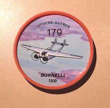 Jello Pane Wheels Others # 179 Burnelli 1939