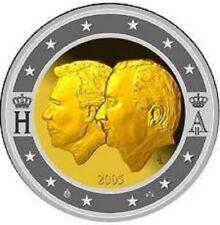 """BELGIE SPECIALE 2 EURO 2005 UNC  """"HENRI & ALBERT"""""""