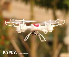 KY909 Drone with 4K camera WIFI white high quality