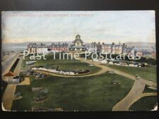 c1906 - FLEETWOOD, Mount Promenade and Gardens, POSTCARD FROM BOY TO HIS TEACHER
