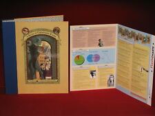 Collectible Binder with Flash Chart for A Series of Unfortunate Events