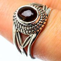 Smoky Quartz 925 Sterling Silver Ring Size 8 Ana Co Jewelry R25311F
