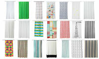 Ikea Modern Bathroom Shower Curtain Luxury Designer Range,180x180 cm,New Curtain
