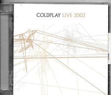 CD ALBUM + DVD LIVE --COLDPLAY --LIVE 2003