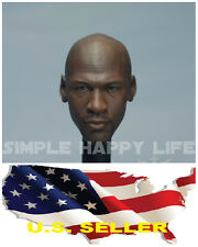 1/6 Michael Jordan Head Sculpt 4.0 custom fit Hot Toys Enterbay Body USA
