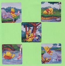 10 Winnie the Pooh Glitter - Large Stickers - Tigger, Piglet, Eeyore
