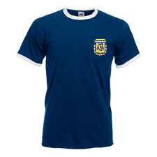 Retro Soccer Argentina Football Shirt TShirt,World Cup 74 Maradona,Brazil,Messi