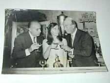 Maurice CHEVALIER Charles BOYER L.CARON dans FANNY 1960