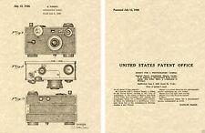 Argus 1938 35mm Cámara Charol Art Estampado Listo A Marco Instantáneo Fotos