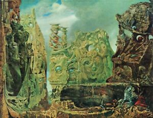 Max Ernst-The eye of silence   Poster or Canvas Premium A4-A0