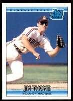 1992 Donruss Jim Thome RC Rookie Cleveland Indians #406