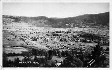 Photo. ca 1934. Merritt, BC Canada.  Sky view