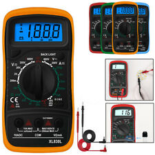 Digital Multimeter Ammeter Ac Dc Voltage Ohmmeter Tester Meter Auto Range Us