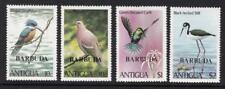 BARBUDA 1980 BIRDS OVERPRINTED BARBUDA SG.536/9 SET OF 4 MNH