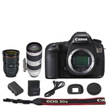 Canon 5DSR DSLR Camera Body + 24-70mm f/2.8L II + 70-200mm f/2.8L IS II