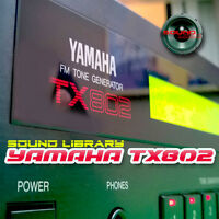 YAMAHA TX802 HUGE Original Factory & New Created Sound Library/Editors on CD