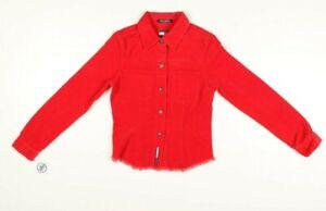 Camicia Tommy Jeans Tg: M Usato (Cod.EBAY121) Vintage Rosso Donna