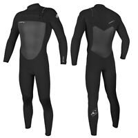 O'Neill Epic 3/2mm Mens Chest Zip Wetsuit Full Length Wetsuit 2021 – Black
