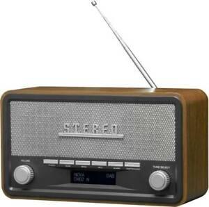 Denver DAB-18 Desk radio DAB+, FM AUX Wood