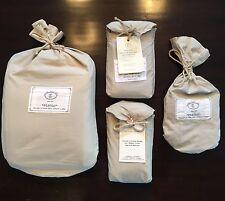 RESTORATION HARDWARE ~Italian Vintage Linen~ Queen Duvet~ KING & STND PC's~ $530
