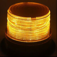 12V-24V Flashing Strobe Beacon Emergency LED Warning Light Car Amber Lamp HY