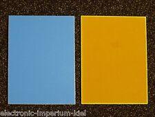 Einseitig fotobeschichtete Platine, EP, 75 x 100mm, Fabr. Bungard