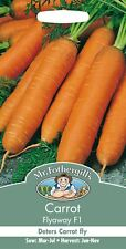 Mr Fothergills - Pictorial Packet - Vegetable - Carrot - Flyaway F1 - 500 Seeds