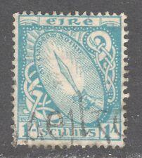 IRELAND STAMP #117  —  1sh DEFINITIVE -- 1940 -- USED