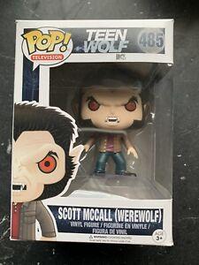 Funko Pop - Teen Wolf - Scott McCall (werewolf) 485 vaulted original