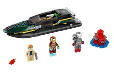 minifigures Lego super heroes iron man extremis sea port battle 76006 retraités