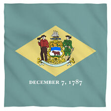 """Bandana - The State Of Delaware Liberty and Independence Flag (22x22"""")"""