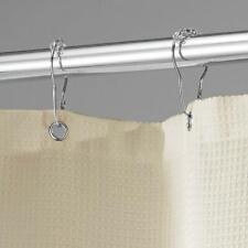 "InterDesign York Hotel Cotton Blend Fabric Shower Curtain 72"" x 72"" LInen (F)"