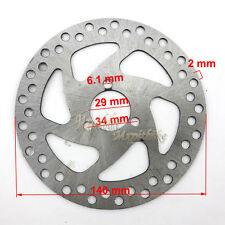 140mm Brake Disc Rotor For 47cc 49cc Gas Electric Scooter Pocket ATV Dirt Bike