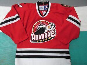 Norfolk Admirals AHL Hockey Reebok Jersey Youth Small/Medium Red AHL