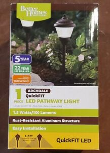 1x Better Homes and Gardens Archdale QuickFIT Pathway LED Light, Brand New