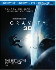 Gravity [New Blu-ray 3D] With Blu-Ray, 2 Pack, 3D, Dubbed, Subtitled