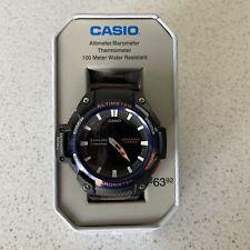 Casio sgw-450h 2B Twin Sensor Altimeter Thermometer Barometer 5 Alarms Brand New