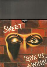 SWEET - give us a wink LP