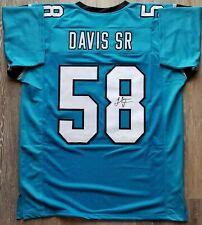 44b8bbc45 Thomas Davis Sr. autographed signed jersey NFL Carolina Panthers JSA w  COA