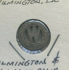Wilmington Delaware DE Wilmington & Philadelphia Tr Co Transportation Token