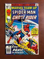 Marvel Team Up #58 (1977) 7.5 VF Key Issue Bronze Age Spider-Man Ghost Rider